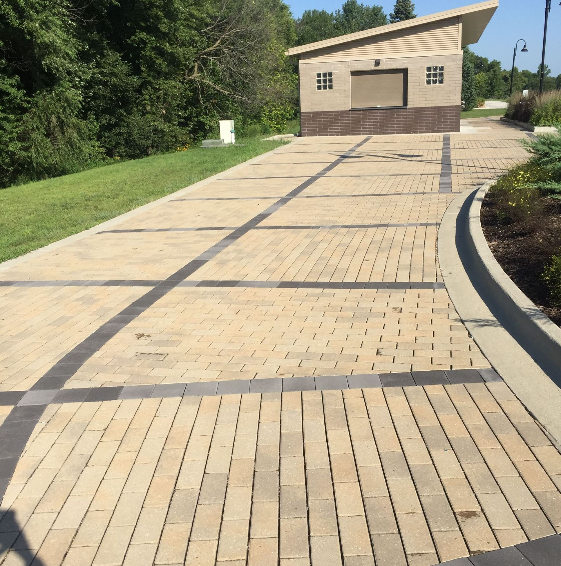 Permeable Pavers Copper Creek Lake Park