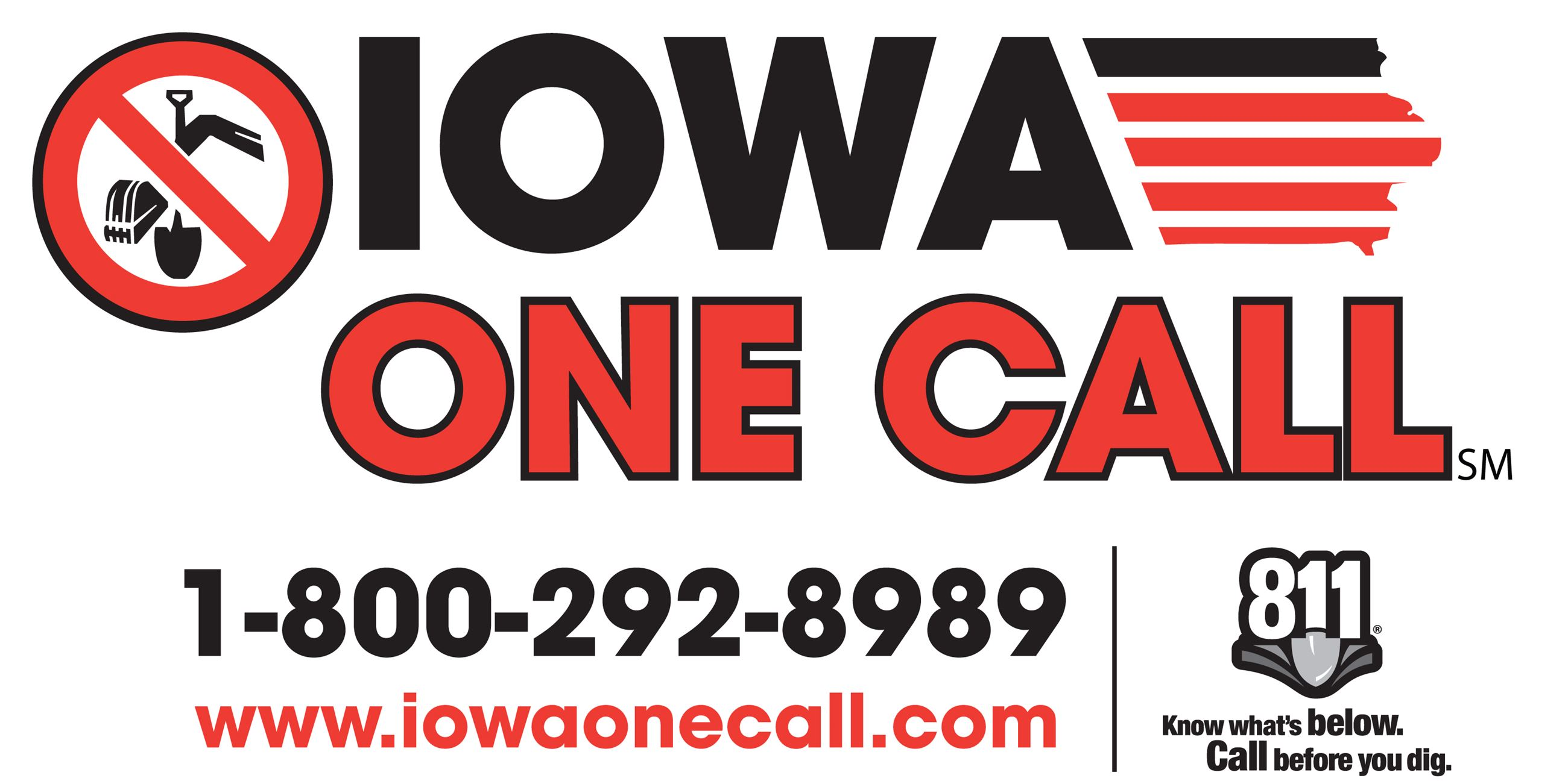 Iowa one call logo
