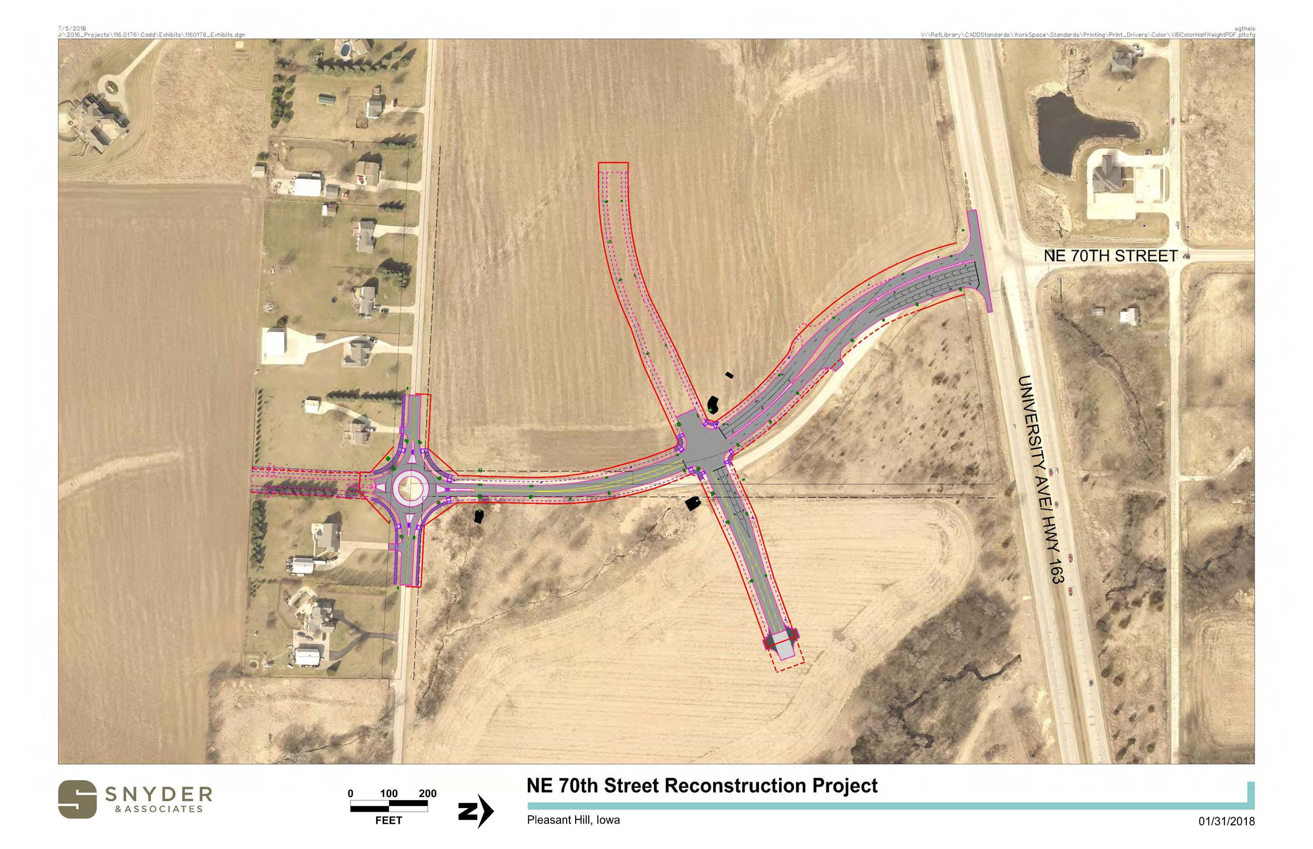 NE 70th Street Project Overview