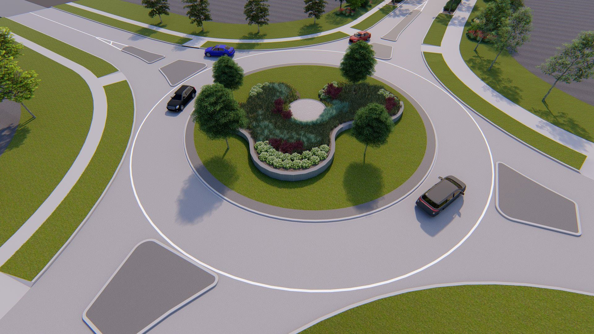70th Street Roundabout