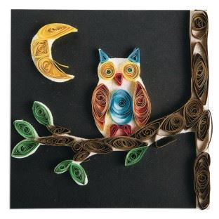 Quilled Paper Owl (PDF)